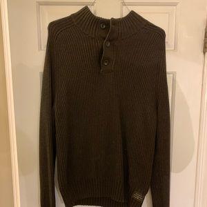 Brown American eagle sweater